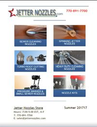 Jetter Nozzles Store Fall 2017 Catalog