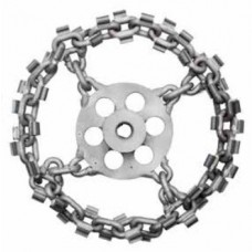 Whirlwind circular cutting chain