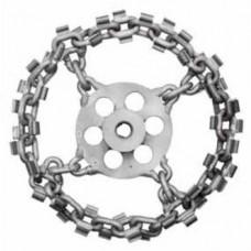 Whirlwind circular cutting chain