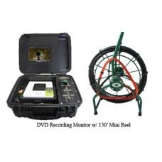 DVD recording inspection system w/ 150' reel