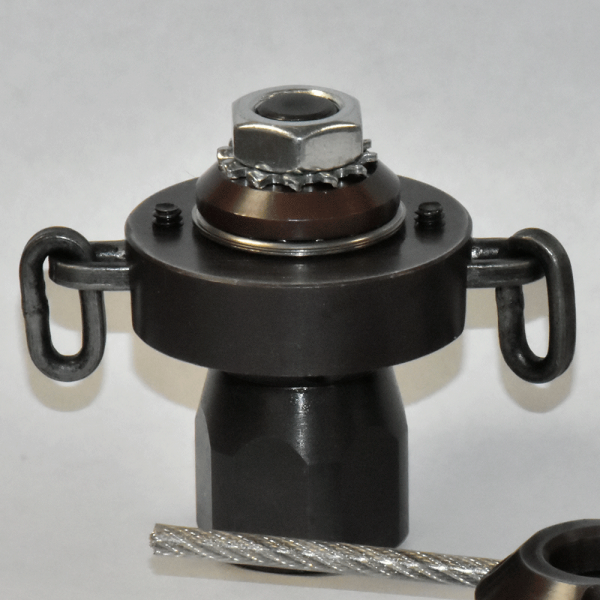 """1/4"""" Root Rat Nozzle w/ flail chain"""