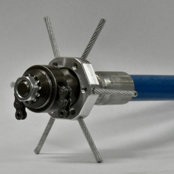 "3/8"" Root Rat Nozzle Centralizer / Skid"