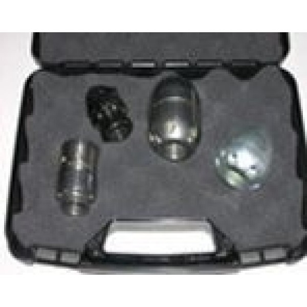 Essential sewer jetter nozzles kit w/ case