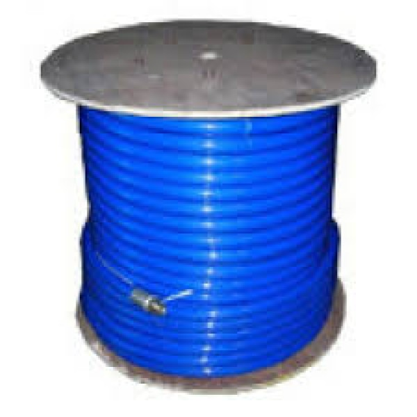 "3,000 PSI Piranha Blue 3/4"" Jetter Hose, 400 feet"