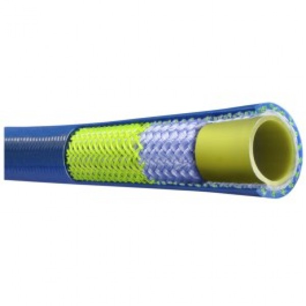 Piranha Blue Jetter Hose cut-a-way