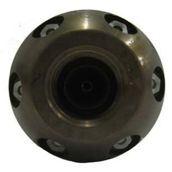 Rhino sewer jetter nozzle rear view