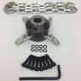 "1/2"" Root Rat Nozzle Replacement Flail Chain Rotor"