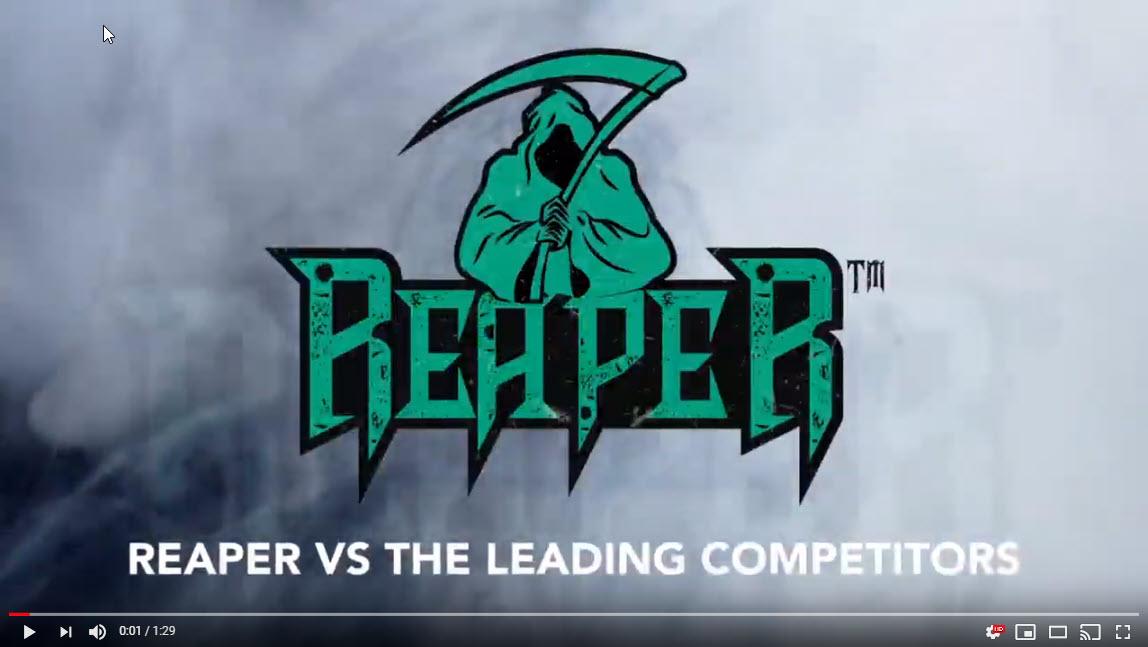 Reaper Nozzle video